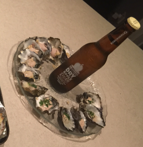 Ginger and Apple Oysters